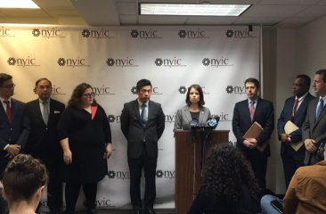 C. Cowen Speaks at NYIC Press Conference - Census 2020