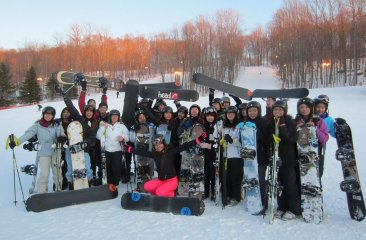 CPC Youth Hit the Slopes (and Visit Prestigious Colleges Too!)