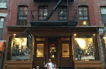 CPC Literacy Program visits the LES Tenement Museum