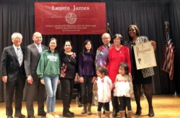 Public Advocate Letitia James Lunar New Year Event