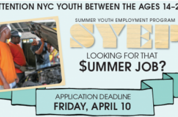 SYEP Participant Application Now Available
