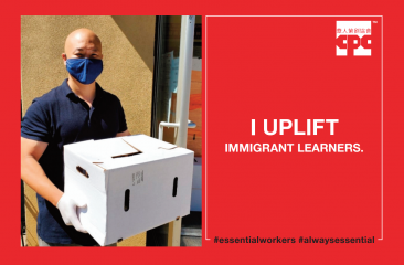 Jeff Lau - Essential Worker- Uplifting immigrant learners