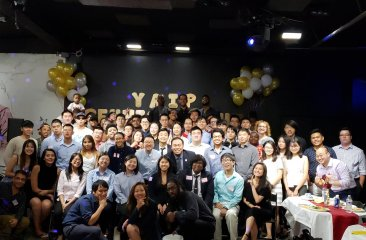 YAIP Reunion Night Group Picture