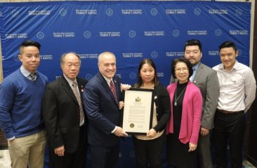 CPC Director Honored at NY State Comptroller Lunar New Year Celebration