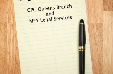 CPC Partners with MFY Legal Services