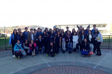 Project Gateway Goes on a One Day Adventure Upstate to Binghamton University